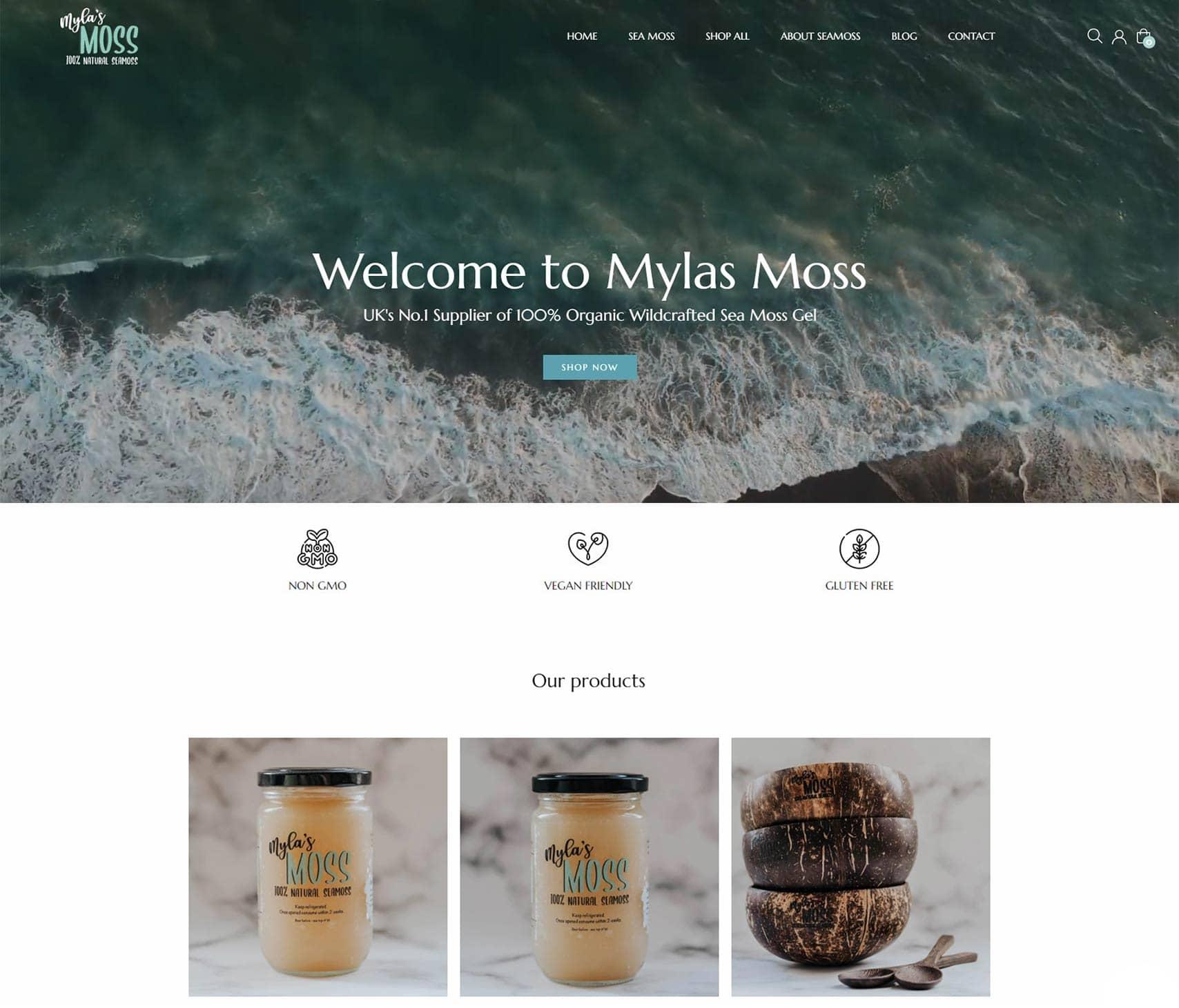 Mylas Moss Portfolio